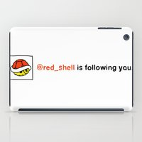 @red_shell is following you. iPad Case