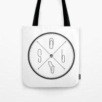 S6 : Hipster Clip Societ… Tote Bag