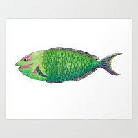 One Fish Art Print