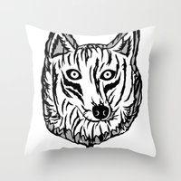 Lobollipop Throw Pillow