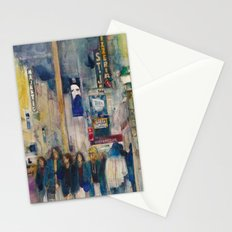 Phantom of the Opera New York Theatre District _ (2014) Watercolor  Stationery Cards