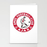 AFCA Ajax Amsterdam Stationery Cards