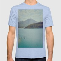 The Lake Mens Fitted Tee Athletic Blue SMALL