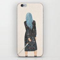 Callie iPhone & iPod Skin