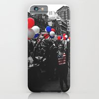 Red, Blue And White iPhone 6 Slim Case