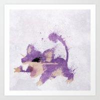 #019 Art Print