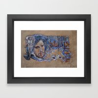 Jon Snow Framed Art Print