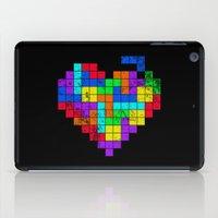 The Game of Love -Dark version iPad Case