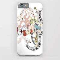 iPhone & iPod Case featuring Love Piano Duet by AnaMF