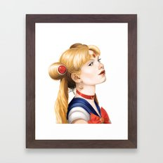 In the Name of the Moon Framed Art Print