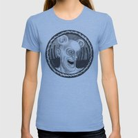 Rev. Splonk going insane Womens Fitted Tee Athletic Blue SMALL