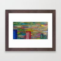These Days Are Gone Framed Art Print