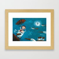 The trip Framed Art Print