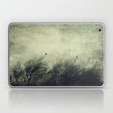 Talk to me ~ Birds silhouettes Laptop & iPad Skin