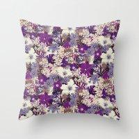 Floral 1 Throw Pillow
