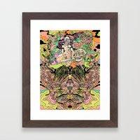 Luminous for a Moment Framed Art Print