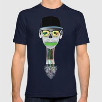HEC Mens Fitted Tee Navy SMALL