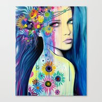 -Wild Youth- Canvas Print