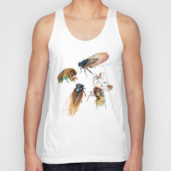 summer cicadas Unisex Tank Top