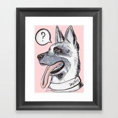 Dog Meat Framed Art Print