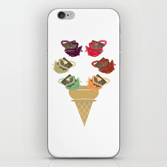 Chocolate Rippleboat Sundae  iPhone & iPod Skin