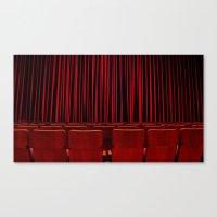 'RED CURTAIN CALL' Canvas Print