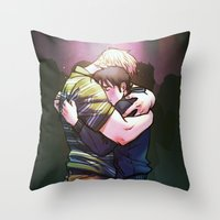 William And Theodore 18 Throw Pillow