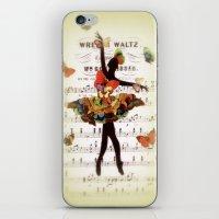 Butterfly Waltz iPhone & iPod Skin
