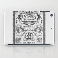Legend of Zelda Bomb Advertisement Poster iPad Case