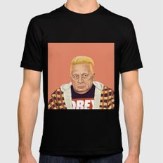 The Israeli Hipster leaders - Ariel Sharon Mens Fitted Tee Black SMALL