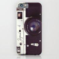 Zorki Vintage Camera iPhone 6 Slim Case