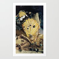 Antioco (wake Up) Art Print