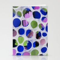 Watercolour Circles Stationery Cards