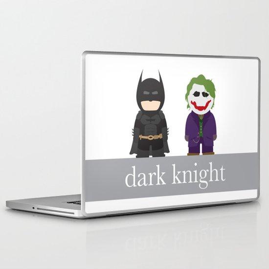 The Dark Knight Laptop & iPad Skin