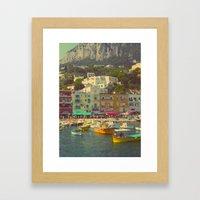 Capri, Italy Framed Art Print
