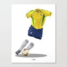 Brazil 2002 - World Cup Winners Canvas Print