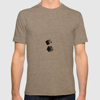 Dice Mens Fitted Tee Tri-Coffee SMALL