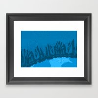Rare Earth - Sky Framed Art Print