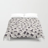 Cats With Hats Duvet Cover