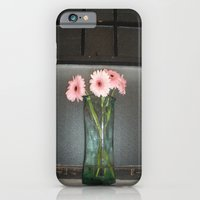 pink daisies ~ flowers on vintage sill iPhone 6 Slim Case