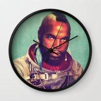 I ain't gettin on no rocket Wall Clock