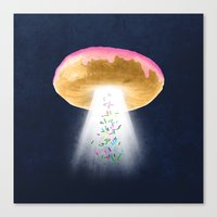 Unidentified Frying Object Canvas Print