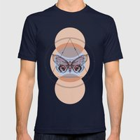Butterfly Effect Mens Fitted Tee Navy SMALL