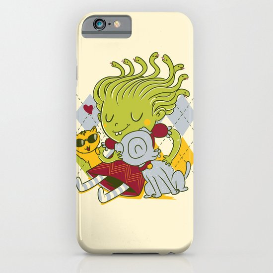 Medusa had a pet rock. iPhone & iPod Case