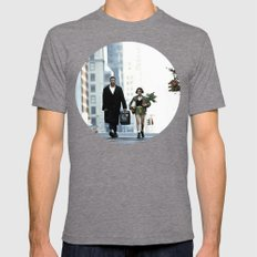 LEON, THE PROFESSIONAL Mens Fitted Tee Tri-Grey SMALL