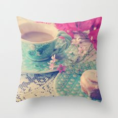 Sweet Morning Throw Pillow