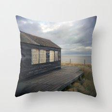 Beach house Throw Pillow