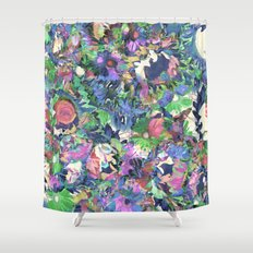 Flower Explosion Shower Curtain