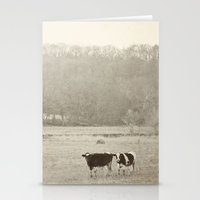 How now two cows  Stationery Cards