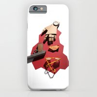 iPhone & iPod Case featuring Dillinger by Tom Canty Illustration